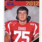 RENO REDA 2012 Big 33 OH High School card KENT STATE DE