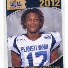 SHAKIM ALONZO 2012 Big 33 PA High School card CINCINNATI Bearcats WR
