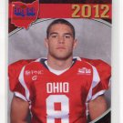 TRAVIS NEES 2012 Big 33 OH High School card TOLEDO 2-star SAFETY