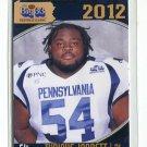 TYRIQUE JARRETT 2012 Big 33 PA High School card PITT Panthers 3-star DT