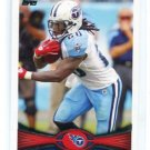 CHRIS JOHNSON 2012 Topps #80 Tennessee Titans