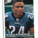 NNAMDI ASOMUGHA 2012 Panini Sticker #266 Eagles CAL BEARS