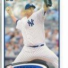 FREDDY GARCIA 2012 Topps #596 New York NY Yankees