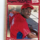 LARRY GREENE 2011 Playoff Contenders Prospect Ticket #RT3 ROOKIE Phillies #1 Prospect