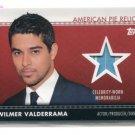 WILMER VALDERRAMA Fez HANDY MANNY 2011 Topps American Pie Relics CELEBRITY-WORN Memorabilia