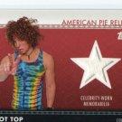Comedian CARROT TOP 2011 Topps American Pie Relics CELEBRITY-WORN Memorabilia