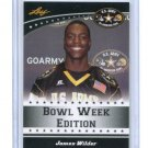 JAMES WILDER 2012 Leaf Army All-American TOUR CARD #East-04 Florida State Seminoles RB