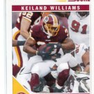KEILAND WILLIAMS 2011 Score ARTIST PROOF SP #297 Redskins LSU Tigers