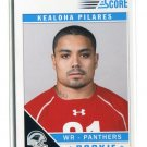 KEALOHA PILARES 2011 Score #353 ROOKIE Carolina Panthers HAWAII Warriors