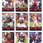 (9) CARDINALS 2012 Topps Base TEAM Lot: Larry Fitzgerald, Skelton, Peterson, more