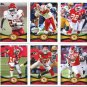 (11) Kansas City KC CHIEFS 2012 Topps Base TEAM Lot: Jamaal charles, Hillis, Bowe, Berry, more