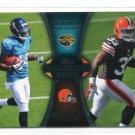 TRENT RICHARDSON / JUSTIN BLACKMON 2012 Topps #PA-BR INSERT ROOKIE Browns ALABAMA