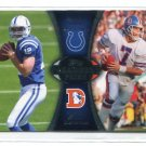ANDREW LUCK / JOHN ELWAY 2012 Topps #PA-LE ROOKIE INSERT Colts BRONCOS QB
