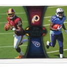 ROBERT GRIFFIN III RG3 / KENDALL WRIGHT 2012 Topps #PA-GW ROOKIE INSERT Baylor QB