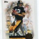 TERRY BRADSHAW 2012 Topps QB Immortals #QI-TB INSERT Pittsburgh Steelers
