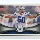 SEAN LEE 2012 Topps #31 Dallas Cowboys PENN STATE Nittany Lions