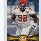 DONTARI POE 2012 Topps #285 ROOKIE Kansas City KC Chiefs MEMPHIS