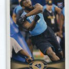 MICHAEL BROCKERS 2012 Topps #89 ROOKIE St. Louis Rams LSU Tigers