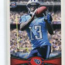 KENDALL WRIGHT 2012 Topps #378 ROOKIE Tennessee Titans BAYLOR BEARS
