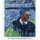 COACH JOE PATERNO In Virum Perfectum POSTCARD Post Card - Blu Art PROMO