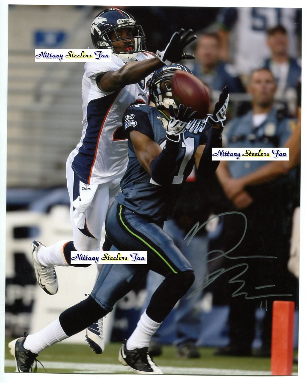 DEON BUTLER Penn State Nittany Lions SEATTLE SEAHAWKS - WR  -  8x10 AUTO Autograph