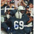 FLOYD WEDDERBURN Penn State Nittany Lions SEAHAWKS - OT -  8x10 AUTO Autograph