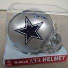 DAN CONNOR Signed Ridell MINI HELMET Penn State Nittany Lions Dallas Cowboys - LB - AUTO Autograph