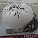 PAUL POSLUSZNY Signed Ridell MINI HELMET Penn State Nittany Lions - LB - AUTO Autograph