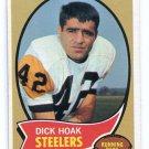 DICK HOAK 1970 Topps #28 PENN STATE Nittany Lions STEELERS RB