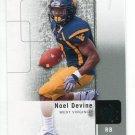 NOEL DEVINE 2011 SP Authentic #41 ROOKIE West Virginia Mountaineers