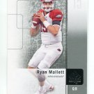 RYAN MALLETT 2011 SP Authentic #92 ROOKIE Arkansas Razorbacks PATRIOTS QB
