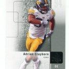 ADRIAN CLAYBORN 2011 SP Authentic #77 ROOKIE Iowa Hawkeyes TAMPA BAY Bucs