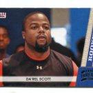 Da'REL SCOTT 2011 Panini Threads #177 ROOKIE Maryland Terps NEW YORK NY Giants