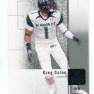 GREG SALAS 2011 SP Authentic #47 ROOKIE Rams HAWAII Warriors PATRIOTS