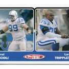 BRAD SCIOLI 2003 Topps Total #394 ROOKIE Penn State COLTS - 1 of only 2 Rookies