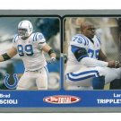BRAD SCIOLI 2003 Topps Total SILVER SP #394 ROOKIE Penn State COLTS - 1 of only 2 Rookies