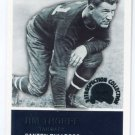 JIM THORPE 2000 Fleer Greats of the Game Retrospection Collection #10RC INSERT