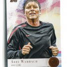 ABBY WAMBACH 2012 Topps Olympic Team BRONZE SP #93 USA Soccer