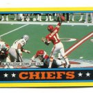 TODD BLACKLEDGE 1985 Topps TL #303 Rookie PENN STATE Kansas City KC CHIEFS QB
