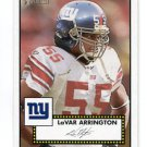 LaVAR ARRINGTON 2006 Topps Heritage #1 Penn State NEW YORK NY Giants