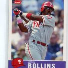 JIMMY ROLLINS 2006 Fleer Tradition #131 Philadelphia Phillies
