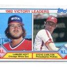 STEVE CARLTON 1983 Topps LL #705 Philadelphia Phillies