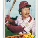 MIKE SCHMIDT 1985 Topps All-Star #714 Philadelphia Phillies