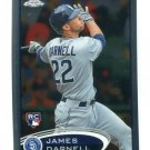 JAMES DARNELL 2012 Topps Chrome #174 ROOKIE Padres