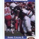 ANDRE COLLINS 1992 Front Row Second Mile PENN STATE Nittany Lions REDSKINS