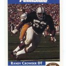 RANDY CROWDER 1992 Front Row Second Mile PENN STATE Nittany Lions