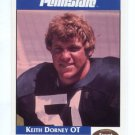KEITH DORNEY 1992 Front Row Second Mile PENN STATE Nittany Lions