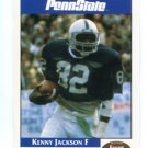 KENNY JACKSON 1992 Front Row Second Mile PENN STATE Nittany Lions EAGLES