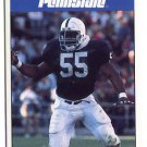 TIM JOHNSON 1992 Front Row Second Mile PENN STATE Nittany Lions