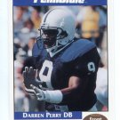 DARREN PERRY 1992 Front Row Second Mile PENN STATE Nittany Lions STEELERS